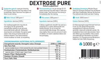 Body&Fit Pure Dextrose